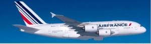 the Air France A380