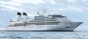Το Seabourn Sojourn στις 5 Ιανουαρίου θα αναχωρήσει για μια κρουαζιέρα που θα κάνει τον γύρο του κόσμου.