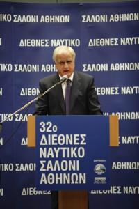 Τα εγκαίνια του 32ου Διεθνούς Ναυτικού Σαλονιού Αθηνών πραγματοποίησε ο Υπουργός Θαλασσίων Υποθέσεων, Νήσων και Αλιείας κος Γιάννης Διαμαντίδης