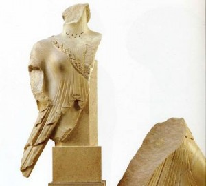 H «Νίκη του Καλλιμάχου», στο Μουσείο της Ακρόπολης