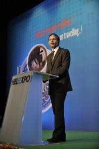 Ο Υπουργός Πολιτισμού & Τουρισμού κ. Παύλος Γερουλάνος, εγκαινίασε την 26η PHILOXENIA και την 1η HOTELIAExpro & Clean.