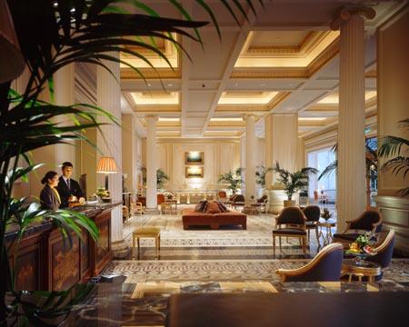 Lobby - Reception Grande Bretagne hotel