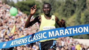 Στον Κλασικό Μαραθώνιο της Αθήνας νικητής στέφθηκε ο Ράιμον Μπετ από την Κένυα