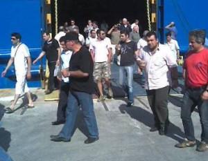 Συνεχίζεται η απεργία των ναυτεργατών για 48 ώρες