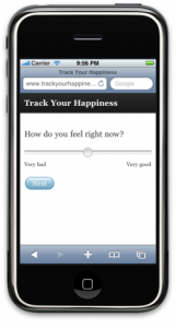 Μέτρηση ευτυχίας με iPhone