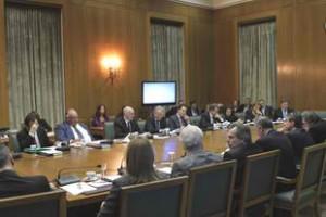 Συνεδρίαση της η Διυπουργικής Επιτροπής Αναδιαρθρώσεων και Αποκρατικοποιήσεων (ΔΕΑΑ)