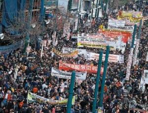 Γενική απεργία την Τετάρτη 15 Δεκεμβρίου, 2010