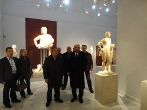 ο υφυπουργός Πολιτισμού και Τουρισμού μετέβη στην Κάλυμνο όπου επισκέφθηκε το αρχαιολογικό μουσείο του νησιού