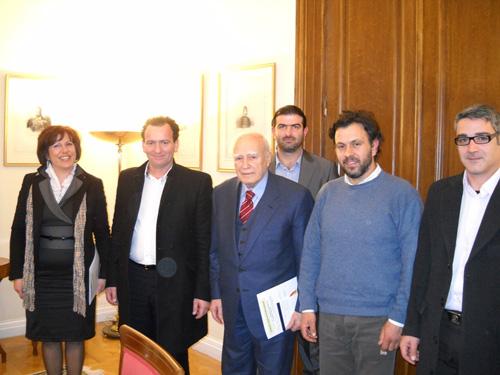Τον Κύριο Κάρολο Παπούλια, Πρόεδρο της Δημοκρατίας επισκέφθηκε το Διοικητικό Συμβούλιο της Πανελλήνιας Ένωσης Νέων Αγροτών
