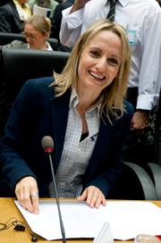 Minister Tina Birbili
