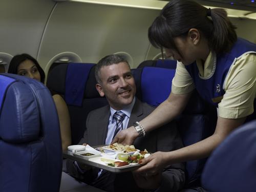Cyprus Airways New menu
