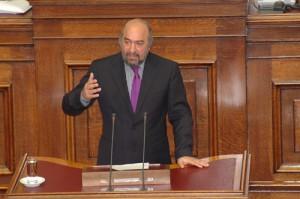 O υφυπουργός τουρισμού κ. Γ. Νικητιάδης