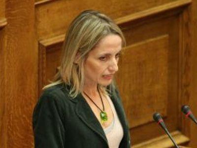 η Υπουργός Περιβάλλοντος, Ενέργειας και Κλιματικής Αλλαγής, Τίνα Μπιρμπίλη
