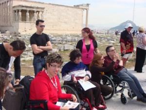 των Ατόμων με Αναπηρία στα μουσεία και τους αρχαιολογικούς χώρους