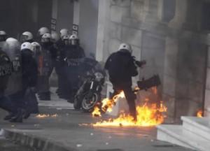 γεγονότα στο κέντρο της Αθήνας