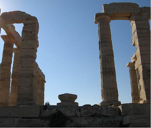 Cape Sounion the Temple of Poseidon