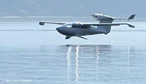 Το AKOYA ένα εκπληκτικό ελαφρύ αμφίβιο ski-plane