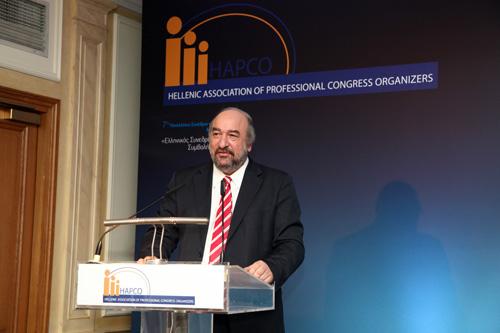 Τις μεγάλες προοπτικές ανάπτυξης του συνεδριακού τουρισμού στη χώρα μας επισήμανε ο Γιώργος Νικητιάδης στο 7ο Πανελλήνιο Συνέδριο του HAPCO