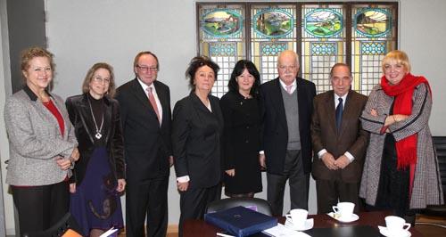Συνάντηση του Υφ. Πολιτισμού και Τουρισμού κ. Π. Αλιβιζάτου με Γερμανούς εκπροσώπους της Ομοσπονδιακής Κάτω Βουλής