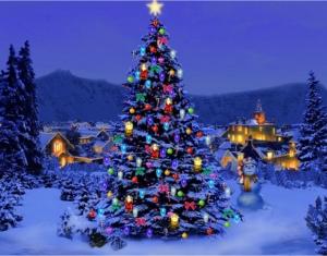 Χριστουγεννιάτικο Δέντρο  στην Καλλικρατική πόλη Μελισσίων - Πεντέλης