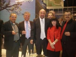Φωτογραφία από την επίσκεψη του Δημάρχου Σητείας κου Πατεράκη & του Αντιδημάρχου κου Αντωνιδάκη στην τουριστική Έκθεση της Ουτρέχτης στην Ολλανδία