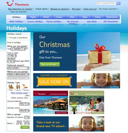 christmas travel deals