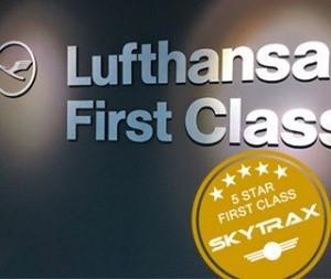 Lufthansa first class award