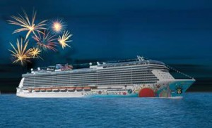 Norwegian Breakaway will light up the night with captivating fireworks show on every cruise
