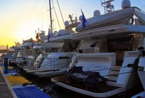 Poros yacht show