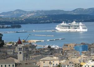 κρουαζιερόπλοια στη Κέρκυρα - Travelling News