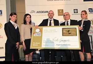 """Ολοκληρώθηκε το 8o Διεθνές Τουρνουά Γκολφ """"Aegean Airlines Pro-Am"""""""