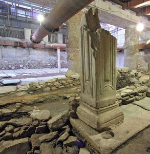 αρχαία στο μετρό Θεσσαλονίκης