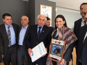 Φωτό απο τη συνάντηση με τους Αζέρους βουλευτες copy