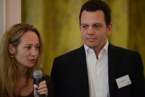 Mr. George Eliades Managing Partner Algean Group & Mrs. Annia Spiliopoulou Eliades Managing Partner Algean Group