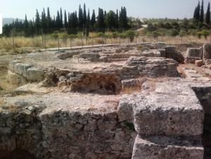 Oλοκληρώνονται οι εργασίες στον χώρο της βασιλικής στο Κράνειο Αρχαίας Κορίνθου