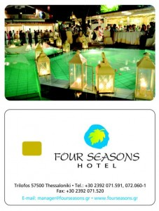 Chip card Four Seasons