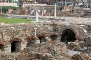 ancient agora Thessaloniki