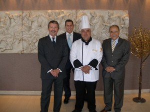 Costas Nanos is the newly appointed Executive Chef of the Athens Ledra Hotel