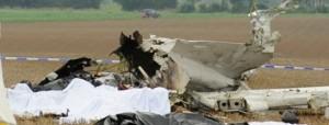 Δύο νεκροί σε αεροπορικό δυστύχημα στη Σπάρτη