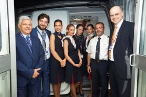 Η AEGEAN καλωσόρισε τους επιβάτες της στο υπερσύγχρονο Terminal 2:The Queen's Terminal στο Ηeathrow του Λονδίνου