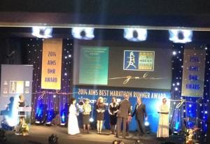 32nd Marathon_Aims BMR Award