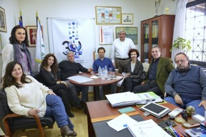 Φωτογραφία από τη συνεδρίαση της Κριτικής Επιτροπής στις 4 Φεβρουαρίου 2015