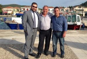 Φωτογραφία Συνάντησης με τον Δήμαρχο Ιθάκης κ. Διονύση Στανίτσα