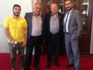 Φωτογραφία Συνάντησης με τον Δήμαρχο Κεφαλονιάς κ. Αλέξανδρο Παρίση