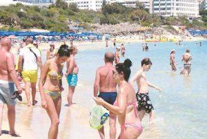 Kypros-touristes