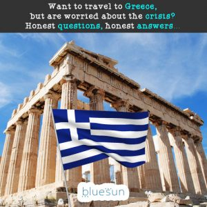 Want to travel to Greece but are worried about the crisis? Honest questions, honest answers...