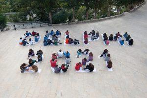 Εκδήλωση με τους μαθητές των σχολείων των Δελφών
