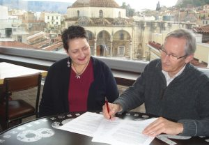 EFI & IVOR SIGNING AGREEMENT