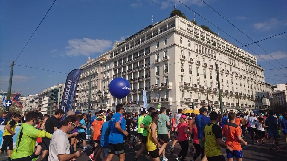 Γιορτή στο κέντρο της πόλης με τον Ημιμαραθώνιο Αθήνας