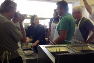 Cooking class από τη chef Γιώτα Πολυχρονίδου